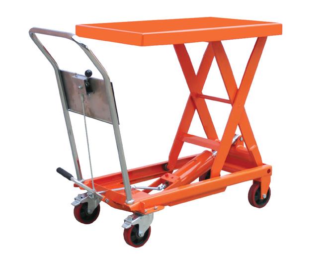 杠杆式卸荷结构平台车