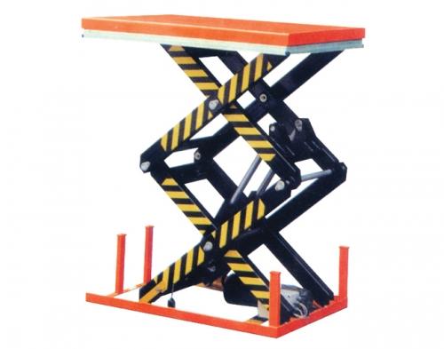 双剪叉结构电动液压升降平台