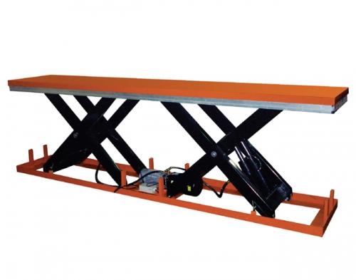 并列单剪叉结构电动液压升降平台