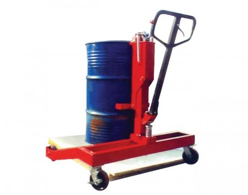 用于搬运托盘上的油桶搬运车